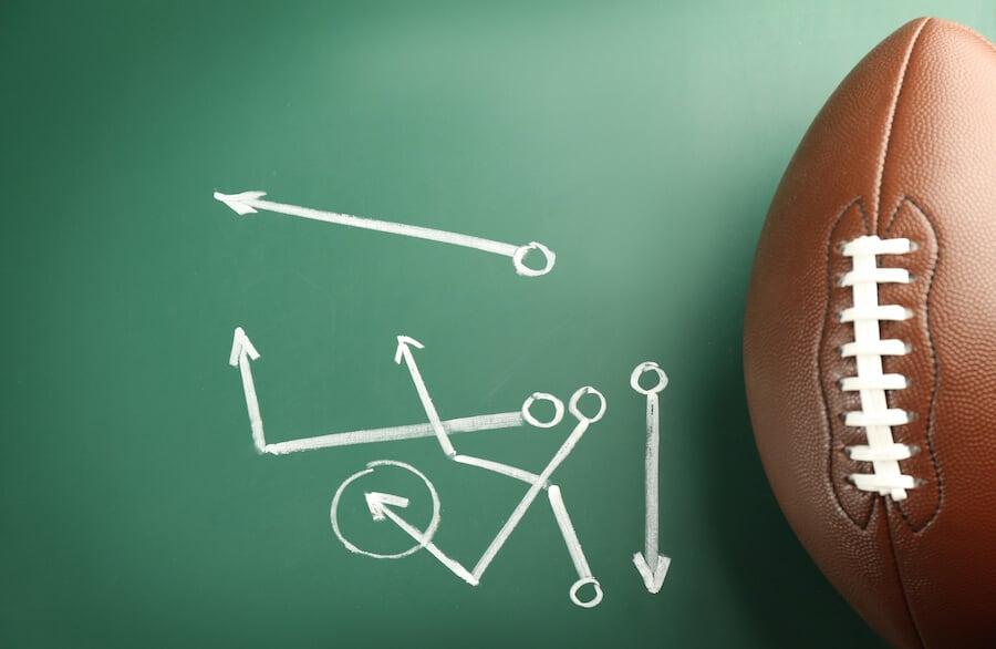 football-play-chalkboard